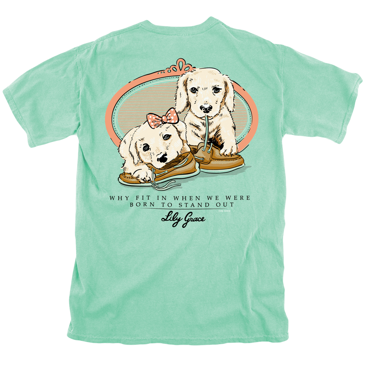 Lily Grace Boat Shoe Puppies T-Shirt