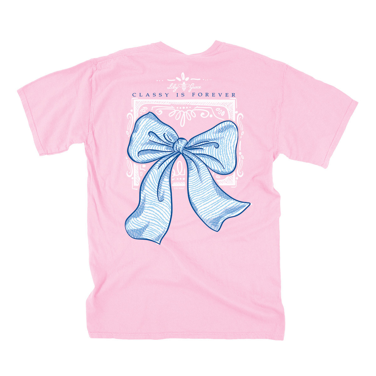 Lily Grace Classy Is Forever Bow BLOSSOM T-Shirt