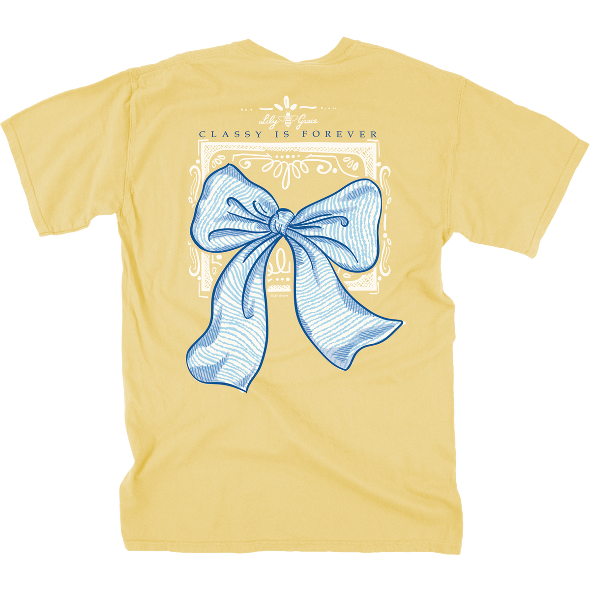 Lily Grace Classy Is Forever Bow T-Shirt