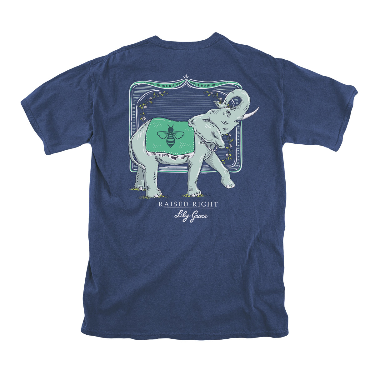 Lily Grace Raised Right - Topside Cotton T-Shirt