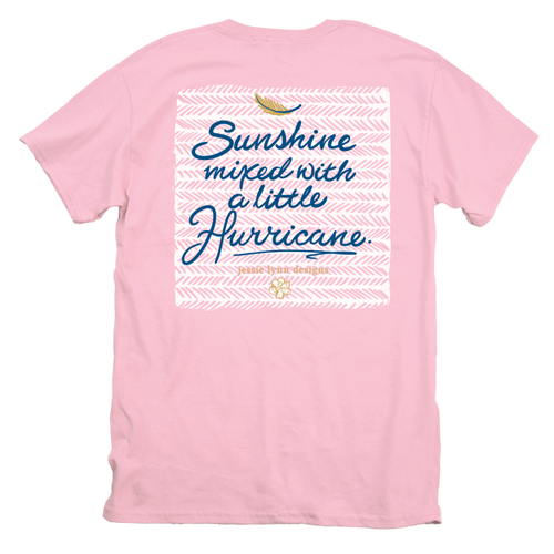Itsa Girl Thing T-Shirt - Sunshine Hurricane