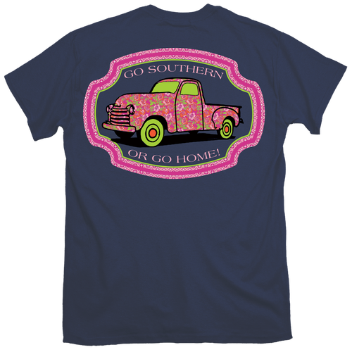 Itsa Girl Thing T-Shirt - Go Southern Or Go Home - Truck Tee