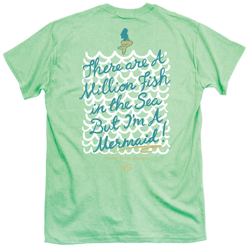 Itsa Girl Thing T-Shirt - Mermaid