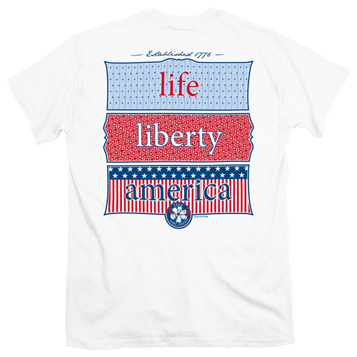 Itsa Girl Thing T-Shirt - Life Liberty America