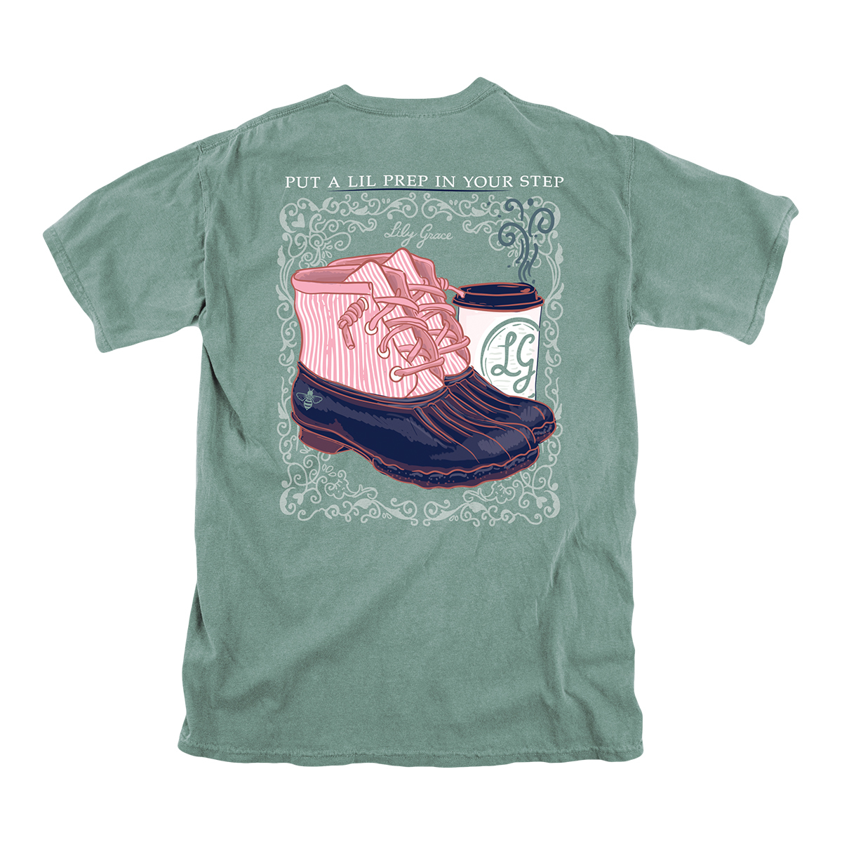 Lily Grace Prep in Your Step T-Shirt