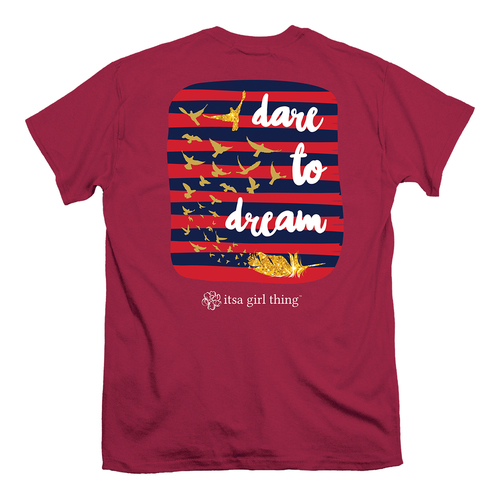 Itsa Girl Thing T-Shirt - Dare To Dream