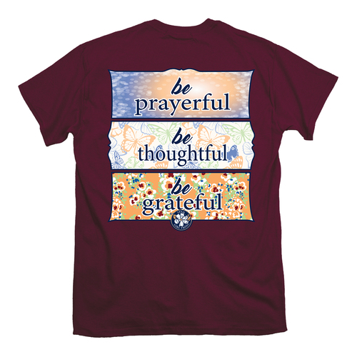 Itsa Girl Thing T-Shirt - Be Grateful