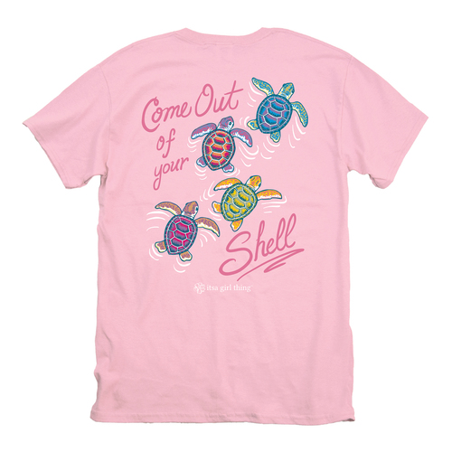 Itsa Girl Thing T-Shirt - Turtles Come Out