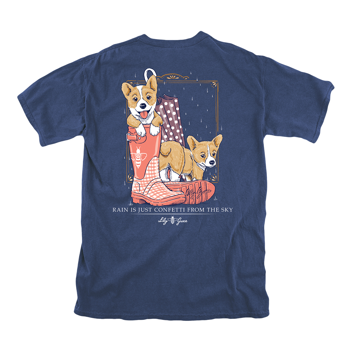 Lily Grace Rain is Confetti T-Shirt