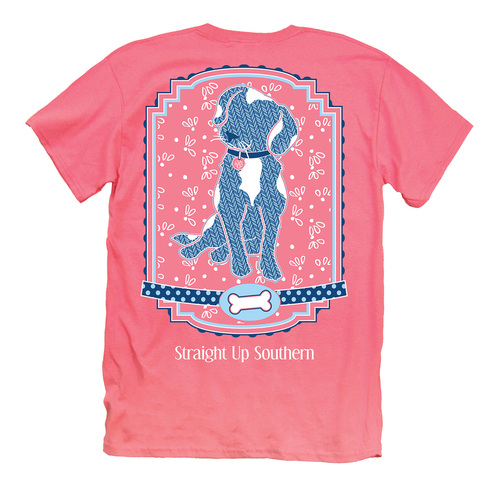 Itsa Girl Thing T-Shirt - Pattern Dog