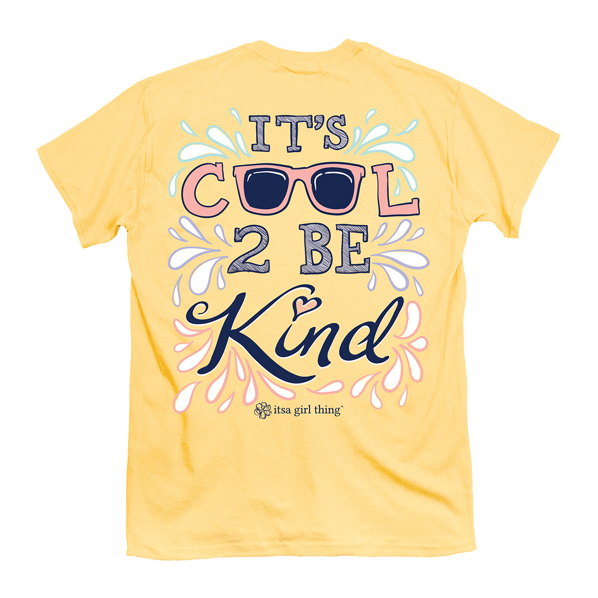 Itsa Girl Thing Cool 2 Be Kind T-Shirt Youth