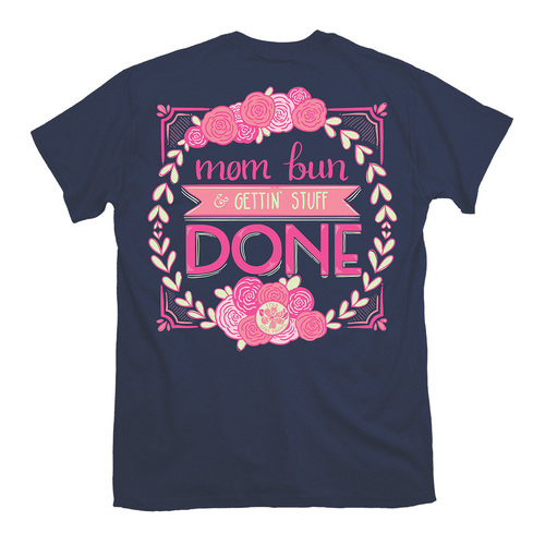 Itsa Girl Thing T-Shirt - Mom Bun