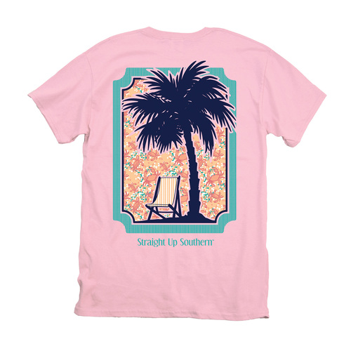 Itsa Girl Thing T-Shirt - Palm Tree