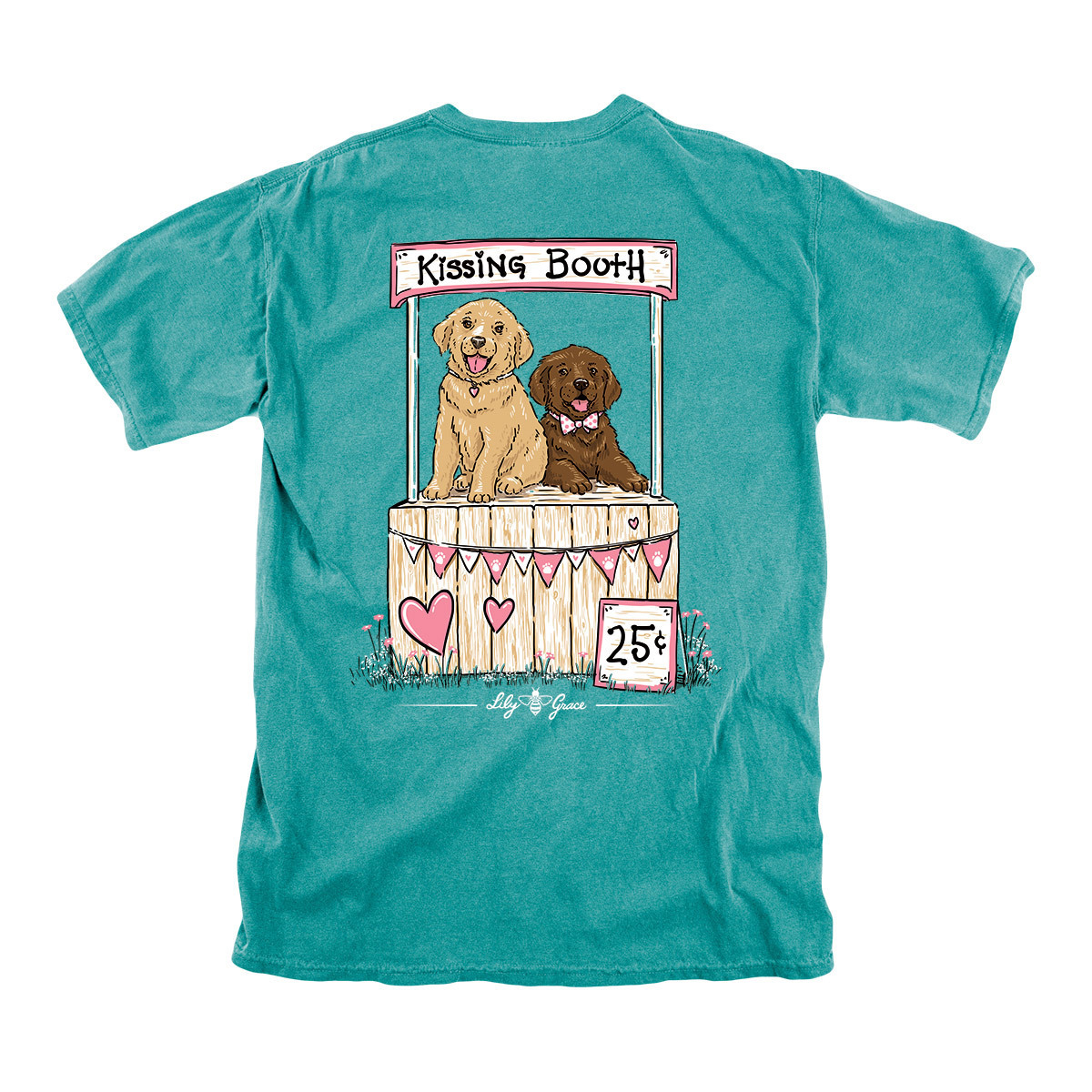 Lily Grace Kissing Booth T-Shirt