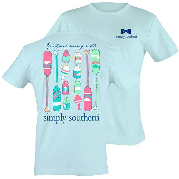 Simply Southern Tees - Preppy Get Your Own Paddles T-Shirt