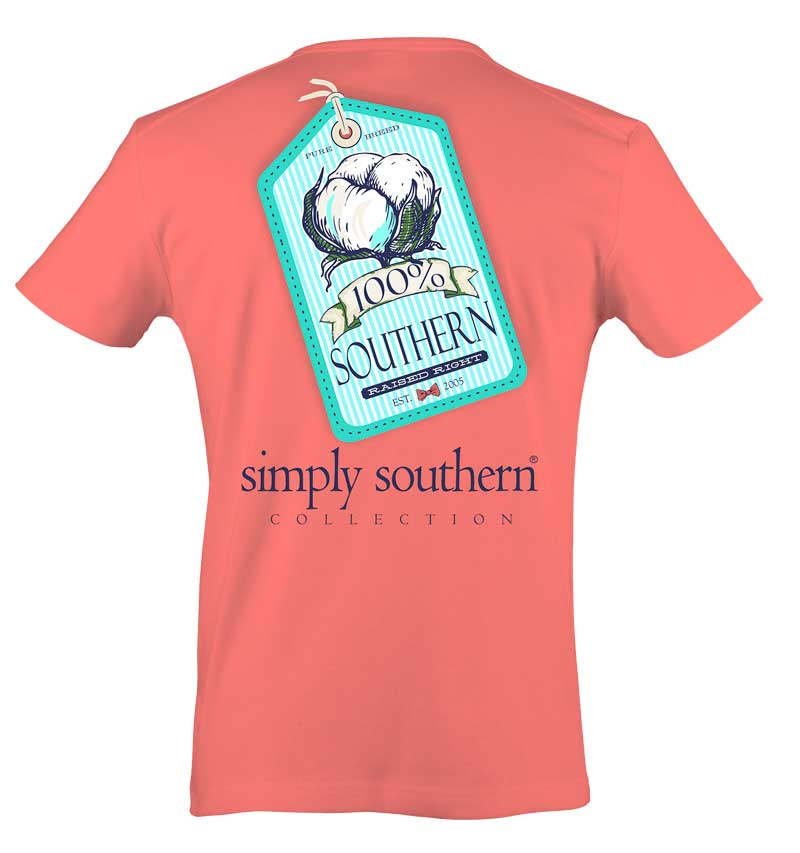 Simply Southern Preppy Collection Cotton T-shirt