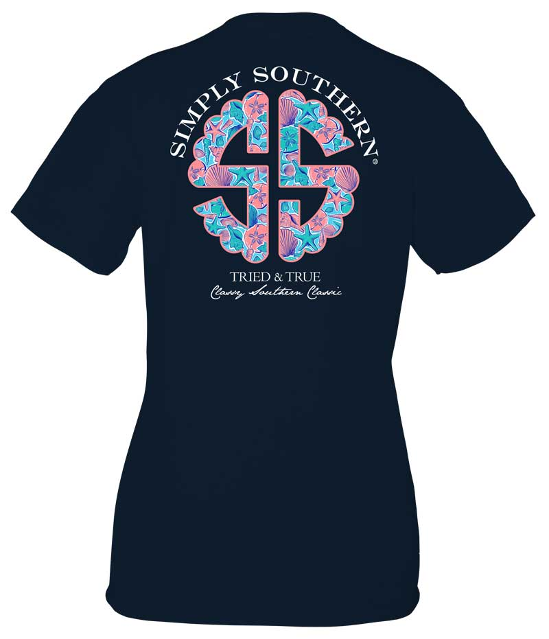 Simply Southern Preppy Collection Tried and True Logo T-shirt for Women
