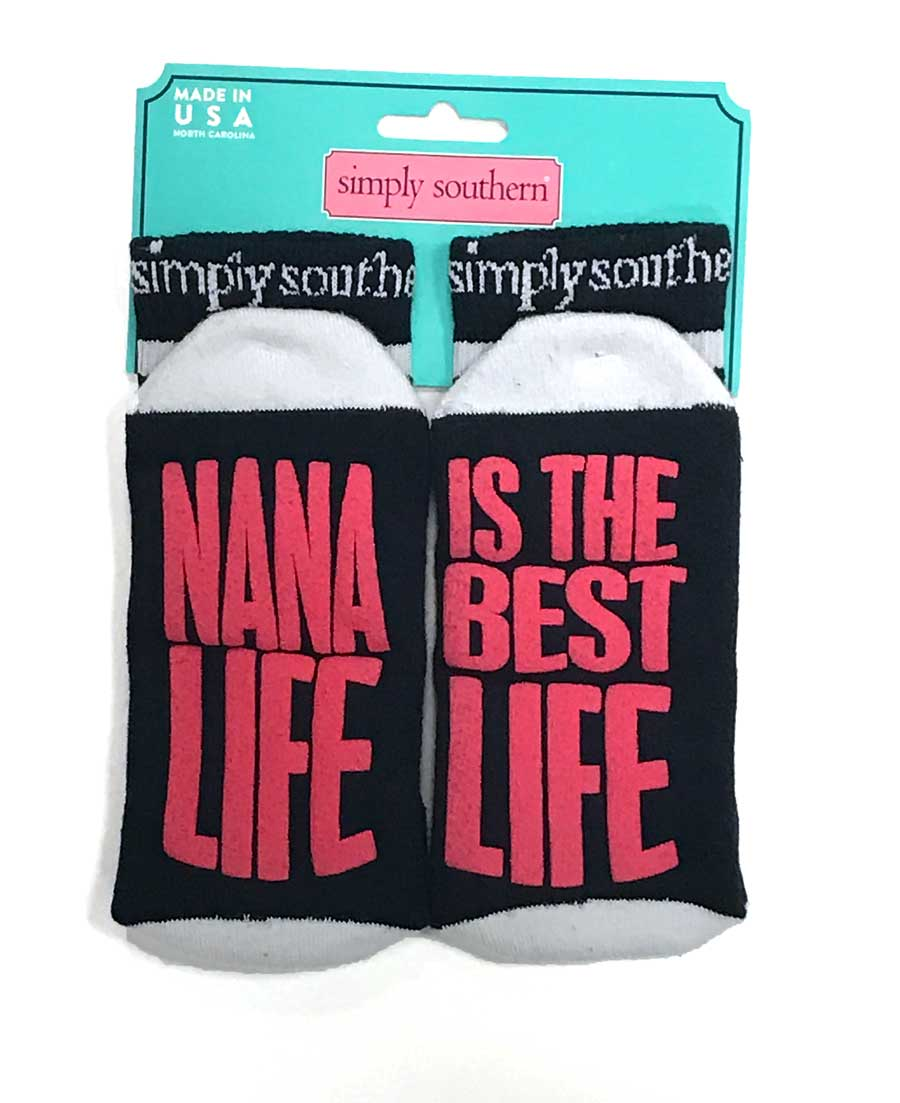 Simply Southern Nana Life is the Best Life Socks for Women