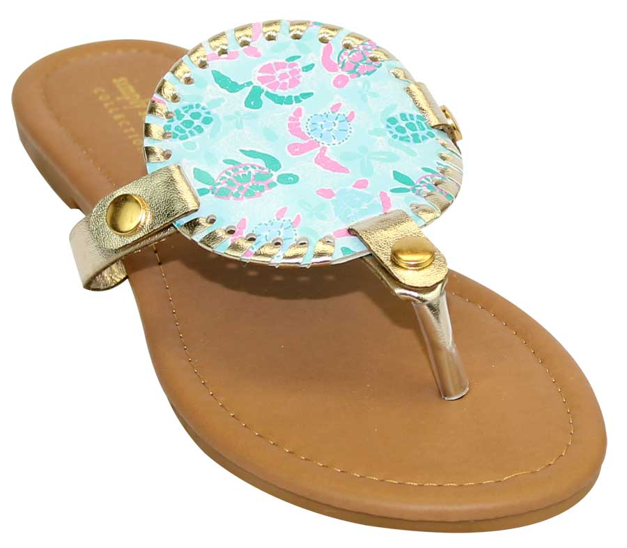 Simply Southern Preppy Collection Friends Sandals