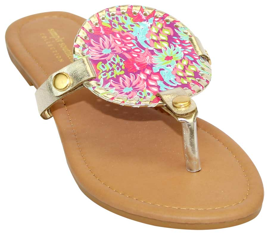 Simply Southern Preppy Collection Jungle Sandals
