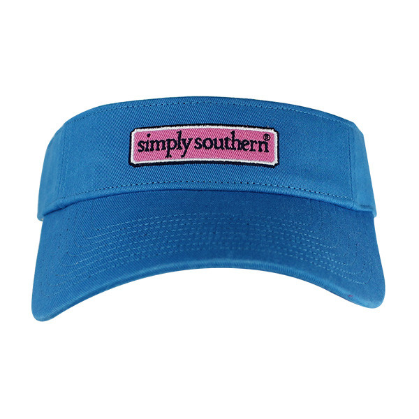 Simply Southern Logo Visor - Velcro Strap - Color Royal