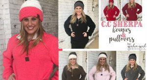 Girlie Girl Originals Sherpa Pullovers