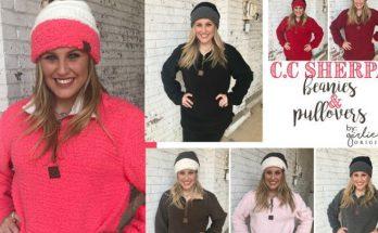 Girlie Girl Originals Sherpa Pullovers