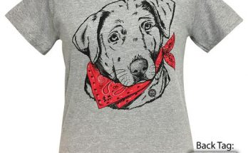 Girlie Girl Originals Paisley Bandana Lab Sport Grey T-Shirt Tee