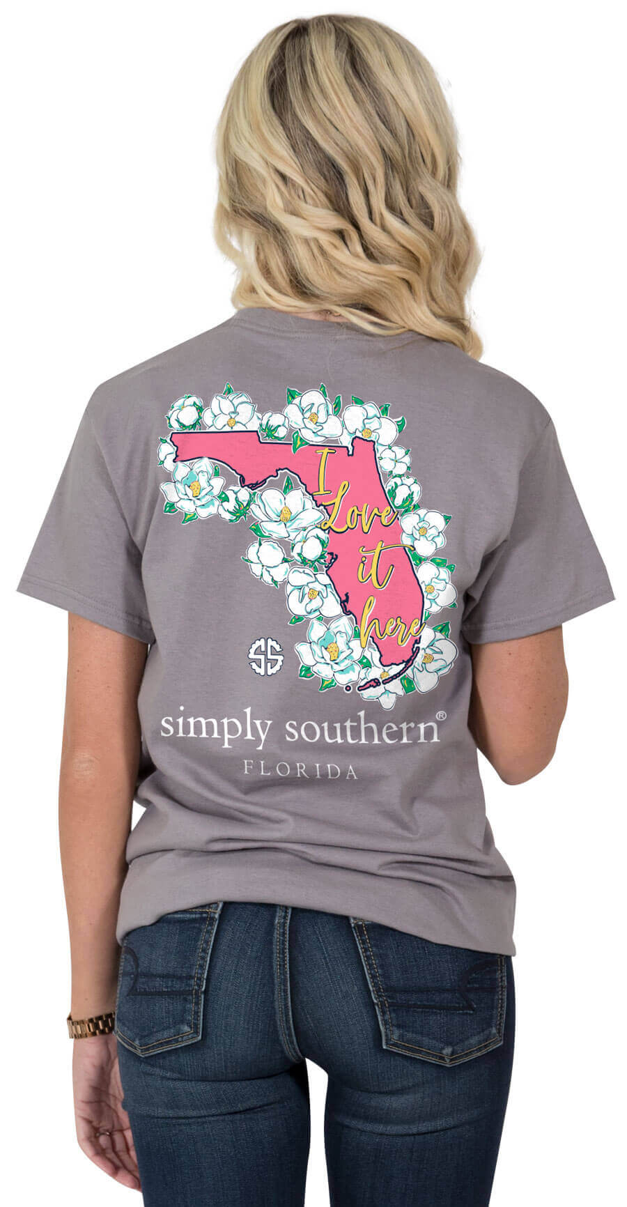 be523ba31 Men's Tee Shirts - Authentic Alabama Heritage Long Sleeve Tee In Crimson By  Southern Marsh ... Simply Southern Preppy ...