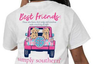 Simply Southern Best Friends T-shirt Preppy Tee