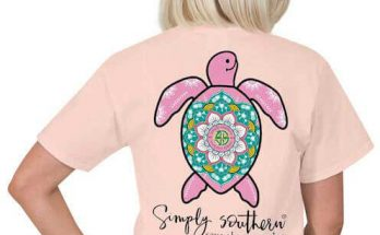 Simply Southern Save The Turtle T-shirt Preppy Tee