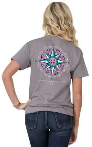 Simply Southern Preppy Tees Compass T-shirts