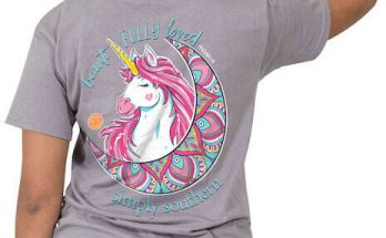 Simply Southern Beautifully Loved Unicorn T-Shirt Tee
