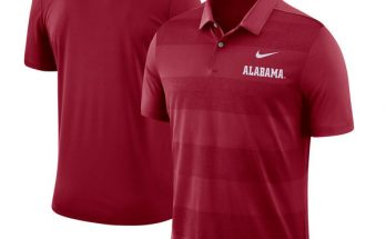 Alabama Crimson Tide Nike 2018 Early Season Coaches Sideline Performance Crimson Polo