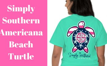 Simply Southern Americana Beach Turtle T-Shirt