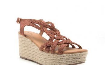 Qupid Shoes Caleb Braided Platform Wedges