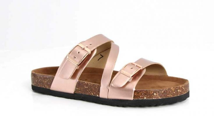Outwoods Bork Diagonal Strap Sandals