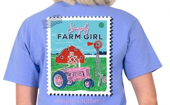 Simply Southern Farm Girl Love All You Do T-Shirt Review