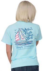 Simply Southern Boat T-Shirt