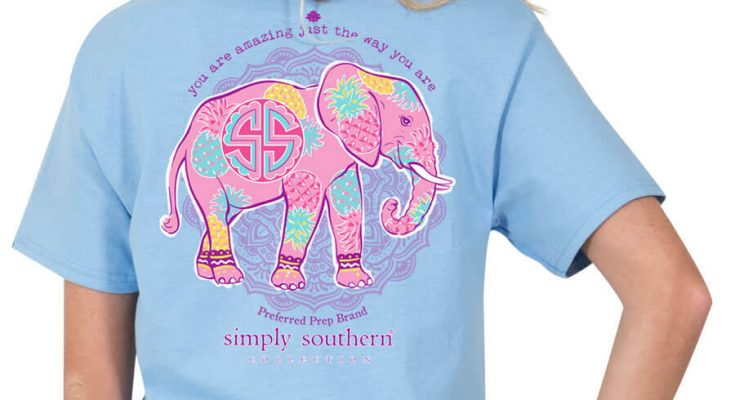 Simply Southern Elephant Shirt