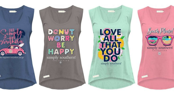 Simply Southern Tanks Tops