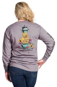 Simply Southern Long Sleeve Shirt - Lantern Light - Be A Light