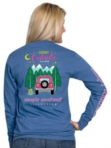 Simply Southern Long Sleeve T-Shirt - Think Outside