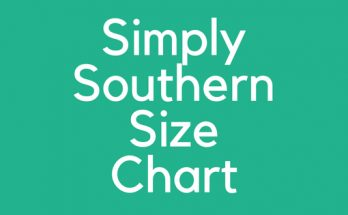 Simply Southern Size Chart