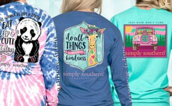 Simply Southern Long Sleeve Shirts New For 2018