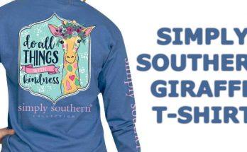 Simply Southern Giraffe T-Shirt