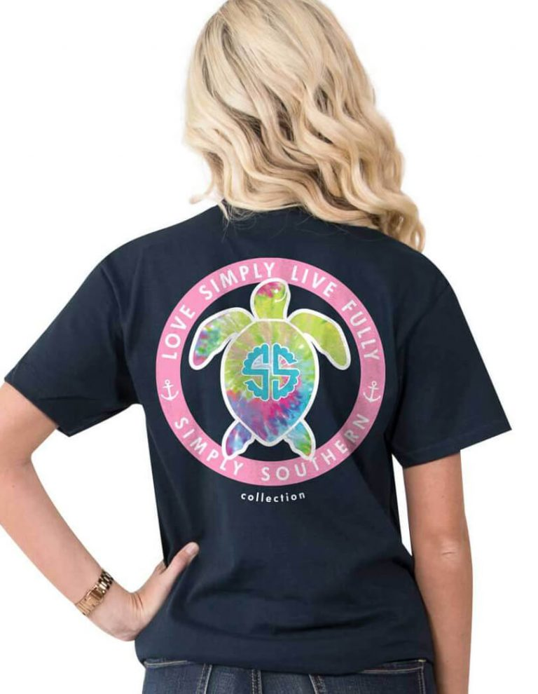 Simply Southern Youth Girls Turtle T-Shirt