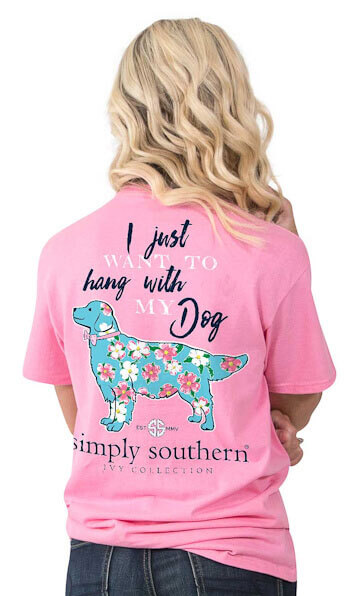 Simply Southern Youth Dog T-Shirt