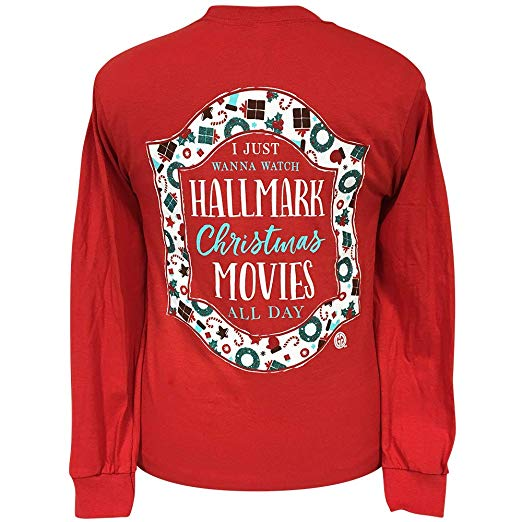 Girlie Girl Originals Long Sleeve Shirts Christmas Movies
