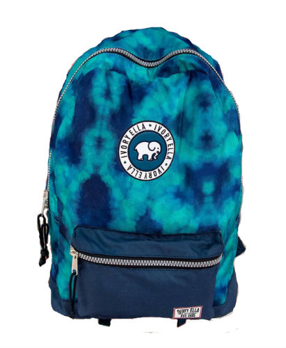 Ivory Ella Navy Watercolor Backpack
